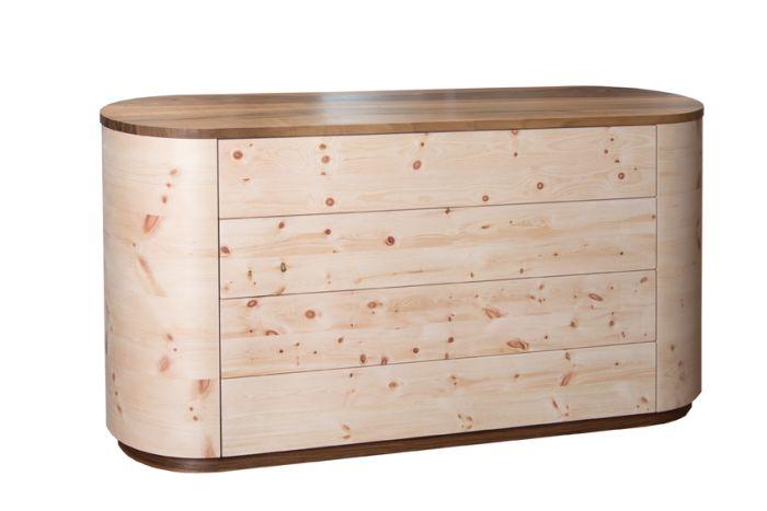 Zirbenkommode elegant 2000 das zirbenbett for Kommode zirbenholz