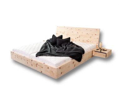 Zirbenholzbett Luxury
